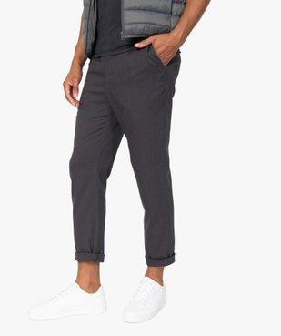 Pantalon homme en maille milano à taille élastiquée vue1 - Nikesneakers (HOMME) - Nikesneakers