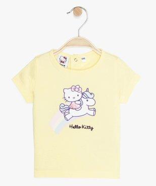 Tee-shirt bébé fille imprimé - Hello Kitty vue1 - HELLO KITTY - GEMO