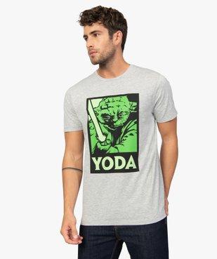 Tee-shirt homme avec motif Maitre Yoda – Star Wars vue2 - STAR WARS - GEMO