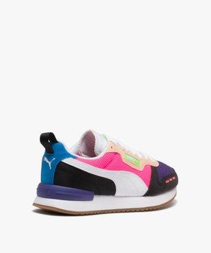 Baskets femme multicolores – Puma R78 vue4 - PUMA - Nikesneakers