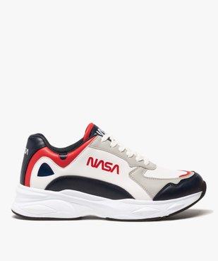 Baskets homme colorées à lacets - Nasa vue1 - NASA - GEMO