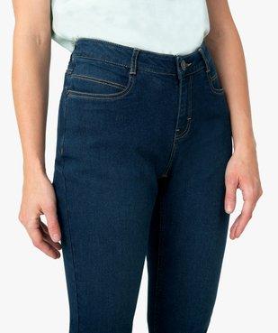 Jean femme coupe Regular 4 poches vue2 - GEMO (JEAN) - GEMO