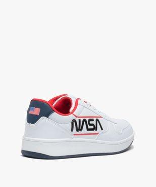 Baskets homme multicolores à lacets - Nasa vue4 - NASA - GEMO