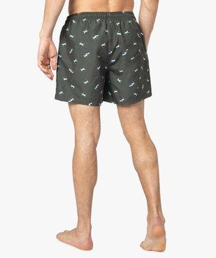 Short de bain homme en polyester recyclé - Gémo x Surfrider vue3 - SURFRIDER DTR - GEMO