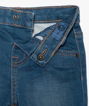 Short bébé garçon en jean extensible vue2 - GEMO(BEBE DEBT) - GEMO