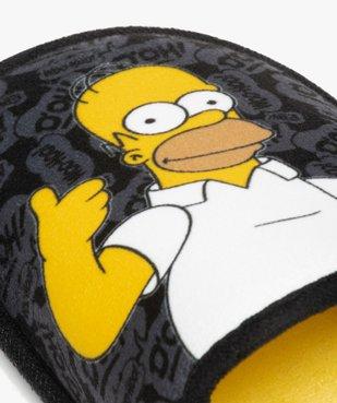 Chaussons homme en forme de mules – Les Simpson vue6 - SIMPSONS - GEMO