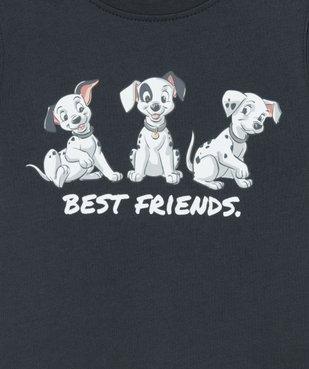 Tee-shirt bébé garçon imprimé 101 Dalmatiens - Disney vue2 - DISNEY DTR - GEMO