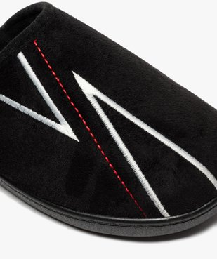 Chaussons homme mules à surpiqûres contrastantes vue6 - Nikesneakers(HOMWR HOM) - Nikesneakers