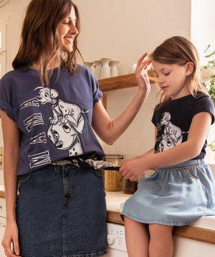 Tee-shirt femme oversize avec motif XXL - Disney vue6 - DISNEY DTR - GEMO