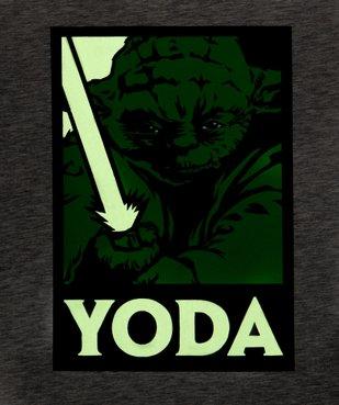 Tee-shirt garçon avec motif phosphorescent – Star Wars vue2 - STAR WARS - GEMO