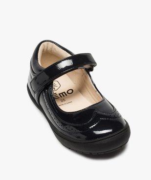 Babies fille unies et vernies à perforations du 24 au 30 vue5 - Nikesneakers (ENFANT) - Nikesneakers