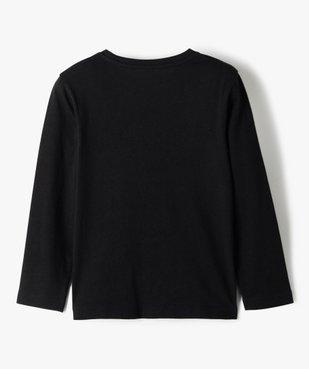 Tee-shirt garçon à manches longues motif squelette phosphorescent vue4 - GEMO (ENFANT) - GEMO