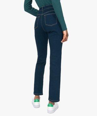 Jean femme regular taille normale brut vue3 - GEMO (JEAN) - GEMO