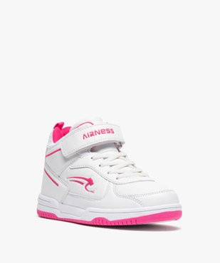 Baskets fille semi-montantes bicolores - Airness vue2 - AIRNESS - GEMO