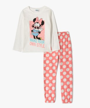 Pyjama fille avec motif Minnie - Disney vue1 - DISNEY DTR - Nikesneakers
