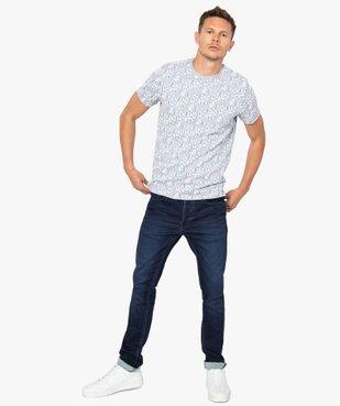 Tee-shirt homme à manches courtes imprimé - Rick and Morty vue5 - RICK ET MORTY - GEMO