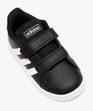 Baskets bébé bicolores à scratch – Adidas Grand Court vue5 - ADIDAS - GEMO