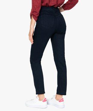 Jean femme slim à taille haute denim brut - L30 vue3 - GEMO(FEMME PAP) - GEMO