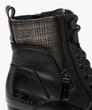 Boots femme à talon carré et semelle crantée – Tom Tailor vue6 - TOM TAILOR - GEMO