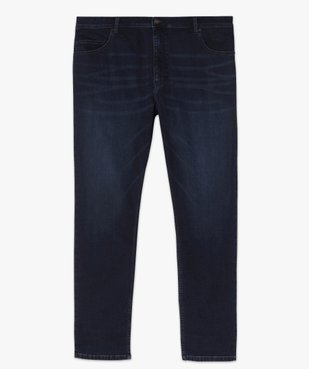 Jean homme brut extensible coupe droite vue4 - GEMO (G TAILLE) - GEMO