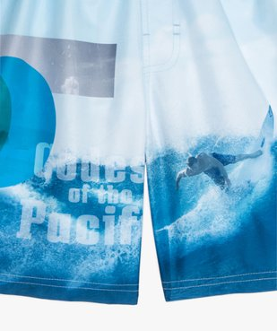 Short de bain garçon à motif surf vue2 - GEMO (JUNIOR) - GEMO