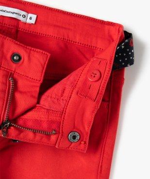 Pantalon fille extensible avec ceinture  – Lulu Castagnette vue3 - LULUCASTAGNETTE - Nikesneakers