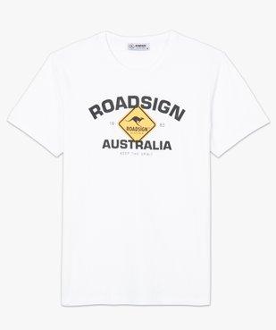 Tee-shirt homme à manches courtes imprimé - Roadsign vue4 - ROADSIGN - GEMO