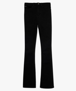 Jean femme extensible coupe Skinny flare vue4 - FOLLOW ME - GEMO