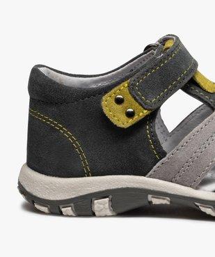 Sandales garçon à scratch à brides multiples en cuir vue6 - Nikesneakers (ENFANT) - Nikesneakers