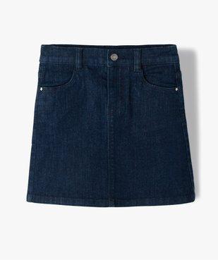 Jupe en jean fille légèrement extensible vue1 - GEMO (ENFANT) - GEMO