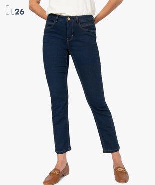 Jean femme extensible coupe Regular - Longueur L26 vue1 - GEMO(FEMME PAP) - GEMO