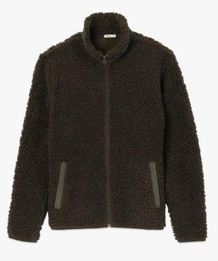 Blouson homme en polaire aspect laine de mouton vue4 - Nikesneakers (HOMME) - Nikesneakers