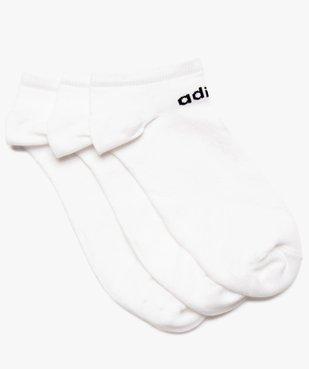 Chaussettes homme tige ultra courte (lot de 3) - Adidas vue1 - ADIDAS - GEMO