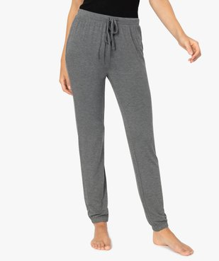 Pantalon de pyjama femme en maille fine avec bas resserré vue1 - Nikesneakers(HOMWR FEM) - Nikesneakers