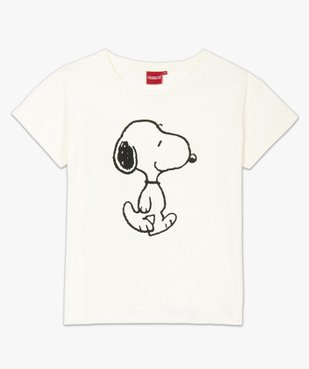 Tee-shirt femme oversize à motif Snoopy - Peanuts vue4 - SNOOPY - GEMO