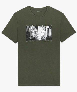 Tee-shirt homme à manches courtes imprimé Japon vue4 - GEMO (HOMME) - GEMO