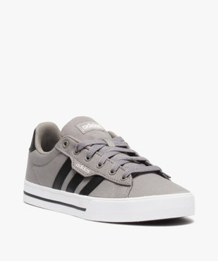 Tennis garçon à lacets en toile bicolores – Adidas vue2 - ADIDAS - Nikesneakers