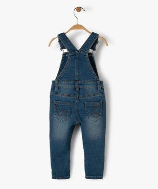 Salopette en jean bébé – Lulu Castagnette vue3 - LULUCASTAGNETTE - GEMO