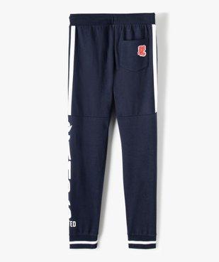 Pantalon de jogging garçon bicolore – Camps United vue4 - CAMPS UNITED - GEMO