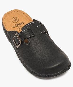 Sandales homme forme sabot avec boucle vue4 - GEMO (CASUAL) - GEMO