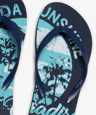 Tongs garçon à semelle imprimée esprit surf vue3 - Nikesneakers (ENFANT) - Nikesneakers