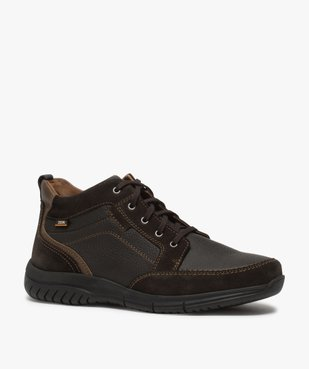 Low-boots homme confort avec nombreuses surpiqûres - Zen vue2 - GEMO (CONFORT) - GEMO