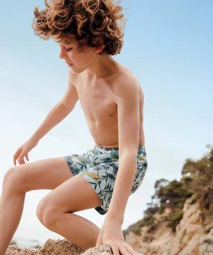Short de bain garçon avec motifs tigres vue1 - GEMO (ENFANT) - GEMO