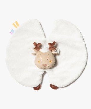 Doudou bébé plat motif renne – Sucre d'Orge vue1 - SUCRE D'ORGE - GEMO