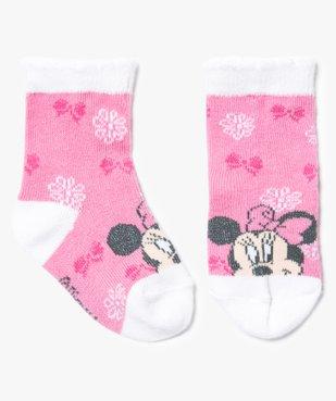 Chaussettes à motifs tête de Minnie - Disney vue1 - MINNIE - GEMO