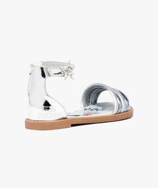 Sandales multibrides - La Reine des Neiges Disney vue4 - REINE DES NEIGE - GEMO