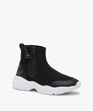 Baskets fille style chaussettes zippées – Lulu Castagnette vue2 - LULU CASTAGNETT - Nikesneakers