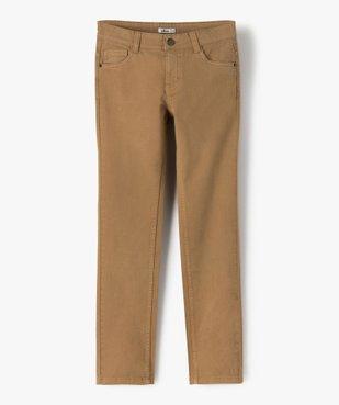 Pantalon garçon style jean slim 5 poches vue1 - Nikesneakers (JUNIOR) - Nikesneakers