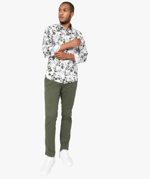 Pantalon chino homme en coton stretch vue6 - Nikesneakers (HOMME) - Nikesneakers