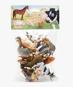 Figurines animaux de la ferme (lot de 12) – Kim Play vue1 - KIM PLAY - GEMO